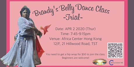 Brandy's Belly Dance Class -Trial- tickets
