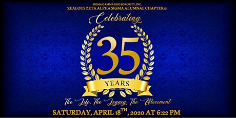 Zeta Alpha Sigma 35th Chapter Anniversary tickets