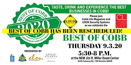 2020 Best of Cobb Celebration tickets