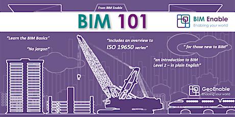 BIM 101 - San Diego tickets