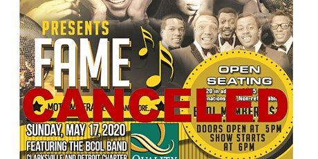 """BCOL Production Presents """"Fame"""" Motown Era Revue and More tickets"""