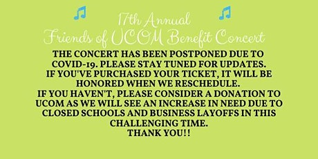 Friends of UCOM Benefit Concert-POSTPONED tickets