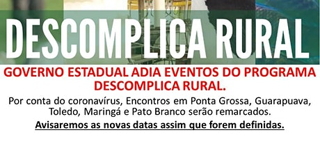 DESCOMPLICA RURAL - TOLEDO tickets