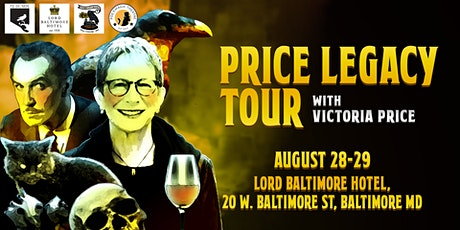 Price Legacy Tour with Victoria Price, daughter of Vincent Price tickets