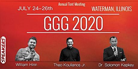GGG 2020 tickets