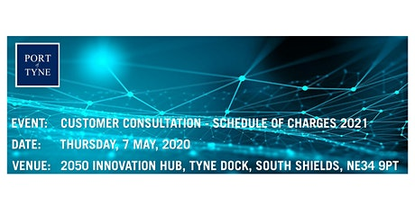 Port of Tyne Schedule of Charges 2021 tickets