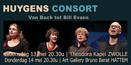 Huygens Consort - Bach tot Bill Evans tickets