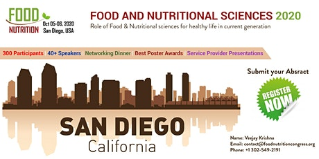 5th Edition of Food and Nutritional Sciences Congress tickets