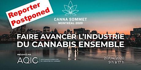 Canna Sommet Montréal 2020 - Faire avancer l'industrie du cannabis ensemble billets