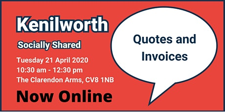 Kenilworth Socially Shared - Quotes and Invoices tickets