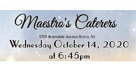October 14th Free Bridal Show at Maestro's Caterers in Bronx, NY tickets