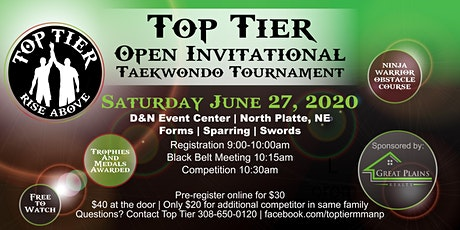 Top Tier Open Invitational tickets