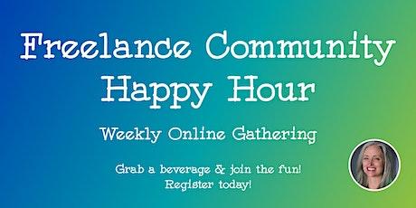Freelance Community Virtual Happy Hour tickets