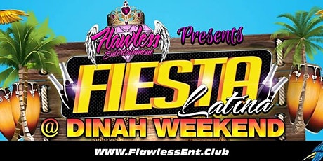 Dinah Shore Weekend LATIN Dance Party FIESTA LATINA tickets