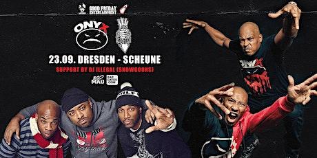 Onyx & Lords Of The Underground Live in Dresden - Scheune Tickets