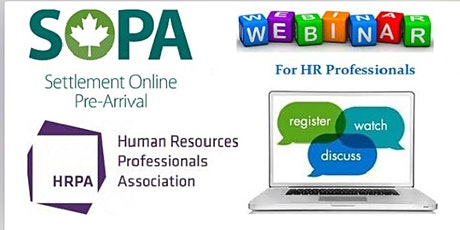 Webinar for HR Professional with expert from HRPA tickets