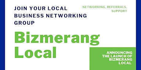 Bizmerang Coleraine Launch meeting tickets