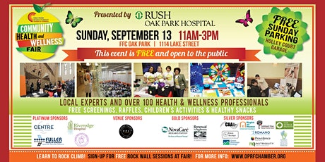 OPRF Chamber Presents: Community Health & Wellness Fair 2020 tickets