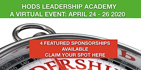 SPONSOR OPP: 2020 Virtual HODS Leadership Academy tickets