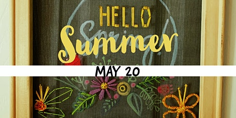 Drafts and Crafts: Hello Summer tickets