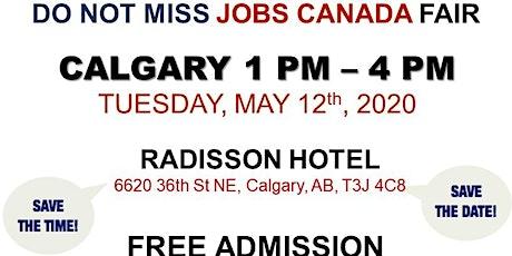 Calgary Job fair - May 12th, 2020 tickets