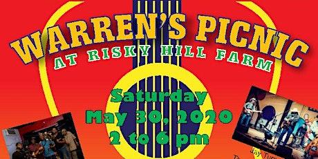 2020 Warren's Picnic at Risky Hill Farm tickets