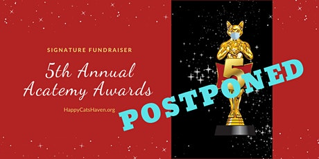 Postponed to Fall 2020 - Happy Cats Haven's 5th Annual Acatemy Awards tickets