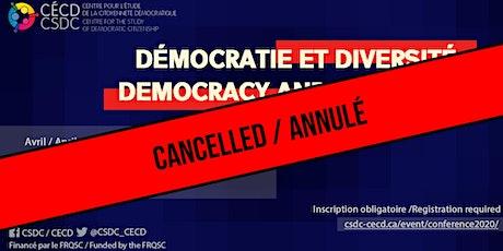 ANNULÉ Conférence du CÉCD  / CANCELLED CSDC Conference billets