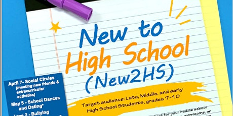 New to High School tickets