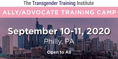 Transgender Ally/Advocate Training Camp - Sept 10-11, 2020 tickets