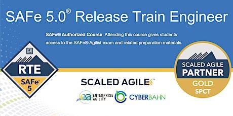 SAFe 5.0 Release Train Engineer (RTE) tickets