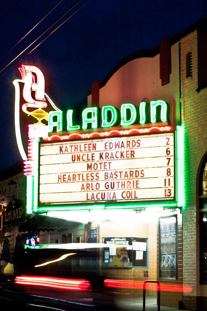 Support the Aladdin Theater during the Covid-19 shutdown image