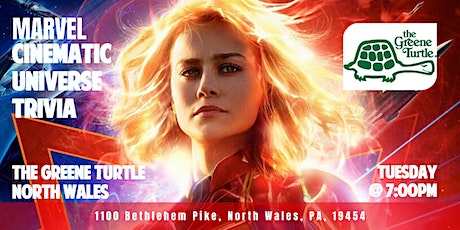 Marvel Cinematic Universe Trivia at The Greene Turtle North Wales tickets