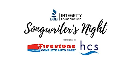 BBB Integrity Foundation Songwriter's Night 2020 tickets