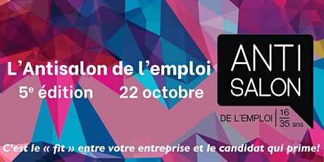 Antisalon de l'emploi! tickets