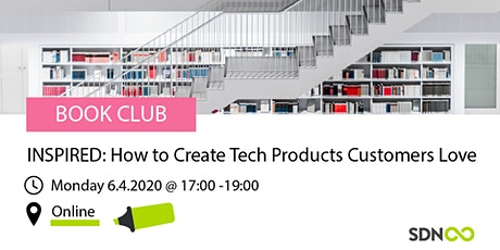 Book Club - INSPIRED: How to Create Tech Products Customers Love tickets