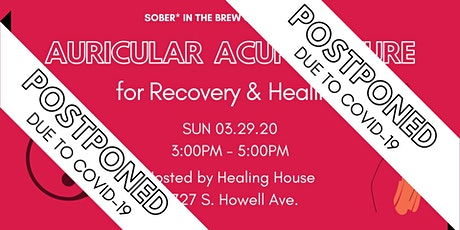 Auricular Acupuncture for Recovery & Healing tickets