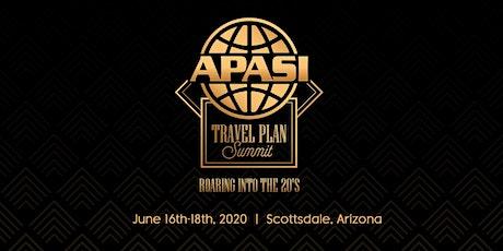 APASI Travel Plan Summit tickets