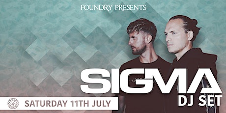 Foundry Presents: Sigma tickets