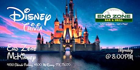 Disney Movie Trivia at End Zone McKinney tickets