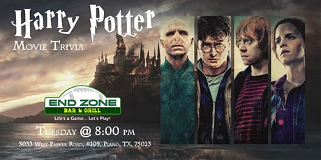 Harry Potter Movies Trivia at End Zone Plano tickets