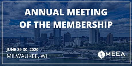 2020 Annual Meeting of the Membership tickets