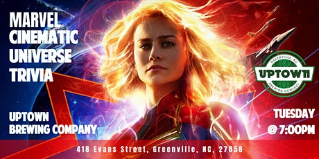 Marvel Cinematic Universe Trivia at Uptown Brewing Company tickets