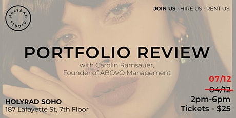 Portfolio Review with Carolin Ramsauer tickets