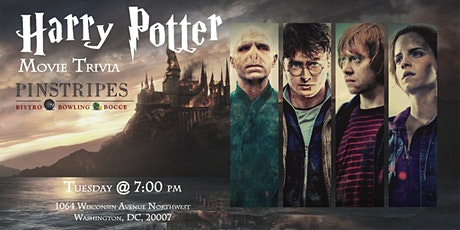 Harry Potter Movie Trivia at Pinstripes Georgetown tickets