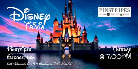 Disney Movies Trivia at Pinstripes Georgetown tickets