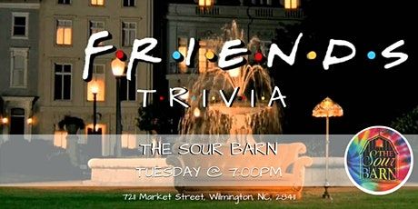 Friends Trivia at The Sour Barn tickets