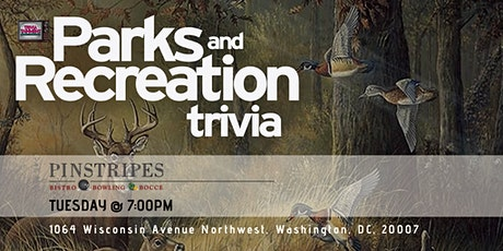 Parks & Rec Trivia at Pinstripes Georgetown tickets