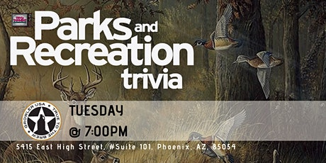 Parks & Rec Trivia at Growler USA Phoenix tickets