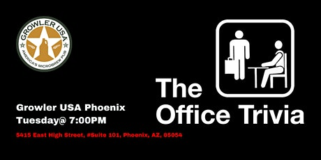 The Office Trivia at Growler USA Phoenix tickets